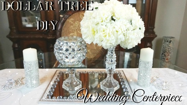 Wedding Tables Decorations Diy Dollar Tree Wedding Centerpiece Diy Dollar Store Bling