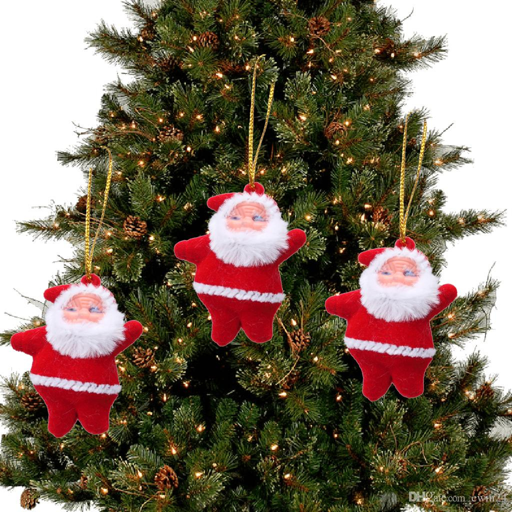 Wedding Tree Decorations Christmas Tree Ornaments Decorations Hanging Pendant Doll Red