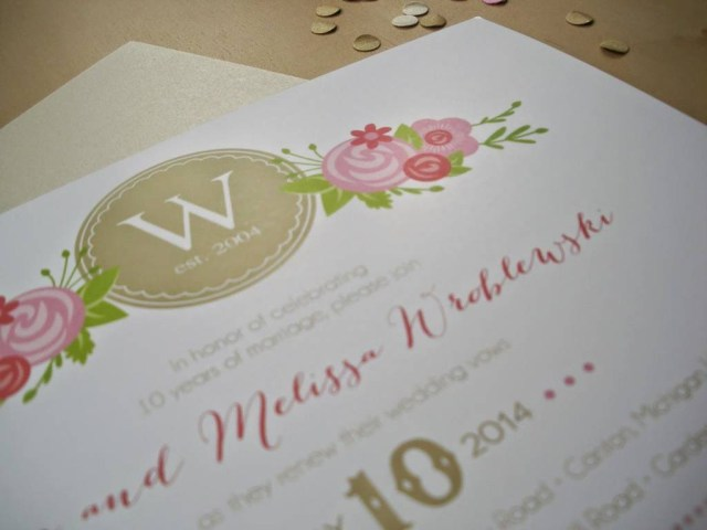 Wedding Vow Renewal Invitations 206458 Champagne Pink Wedding Vow Renewal Invitations Vivian Elle