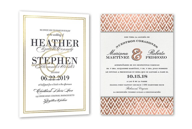 What To Say On Wedding Invitations 35 Wedding Invitation Wording Examples 2018 Shutterfly