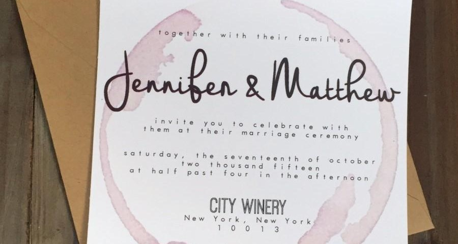 Winery Wedding Invitations Invitation Palomar Winery Wedding Invitation 2441274 Weddbook