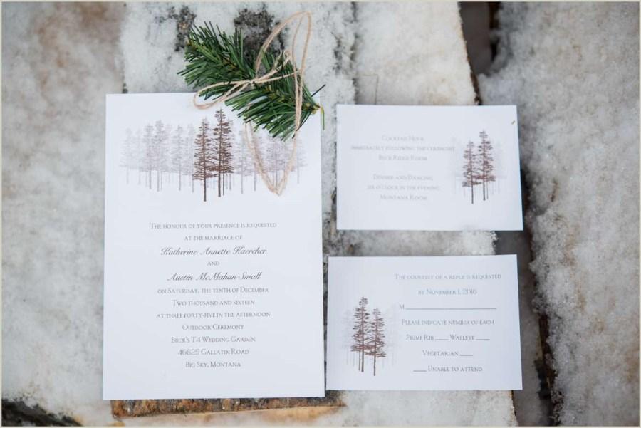 Woodsy Wedding Invitations Rustic Woodsy Wedding Invitations