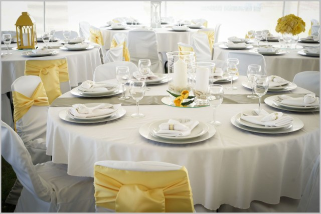 Yellow Wedding Decorations Charming White And Yellow Decor Weddings Costa Rica Yellow And White