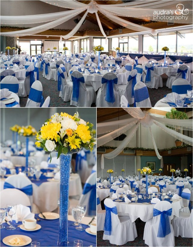 Yellow Wedding Decorations Royal Blue And Yellow Wedding Decorations Love Minus The Yellow
