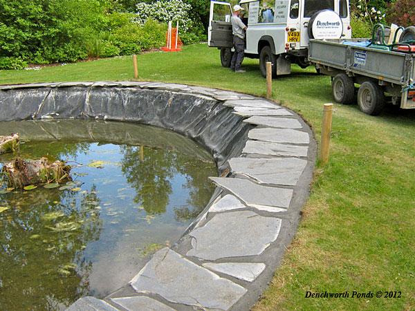 Pond refurbishment Ponds built
