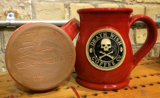 Rikis Ride Death Wish Coffee St Jude Childrens Research Hospital Deneen Pottery
