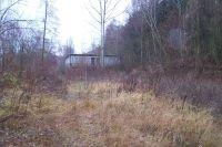 Pohled na plochu př™ed započetím prací. Vřude rostly náletové topoly, akaáty, vrby dosahující výřky i 4 m.