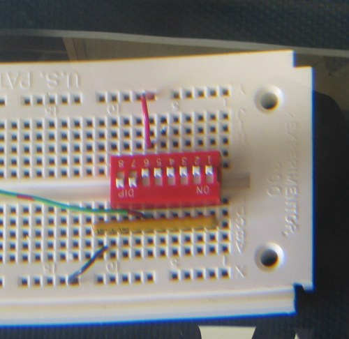 small resolution of dip switch with resistor array active