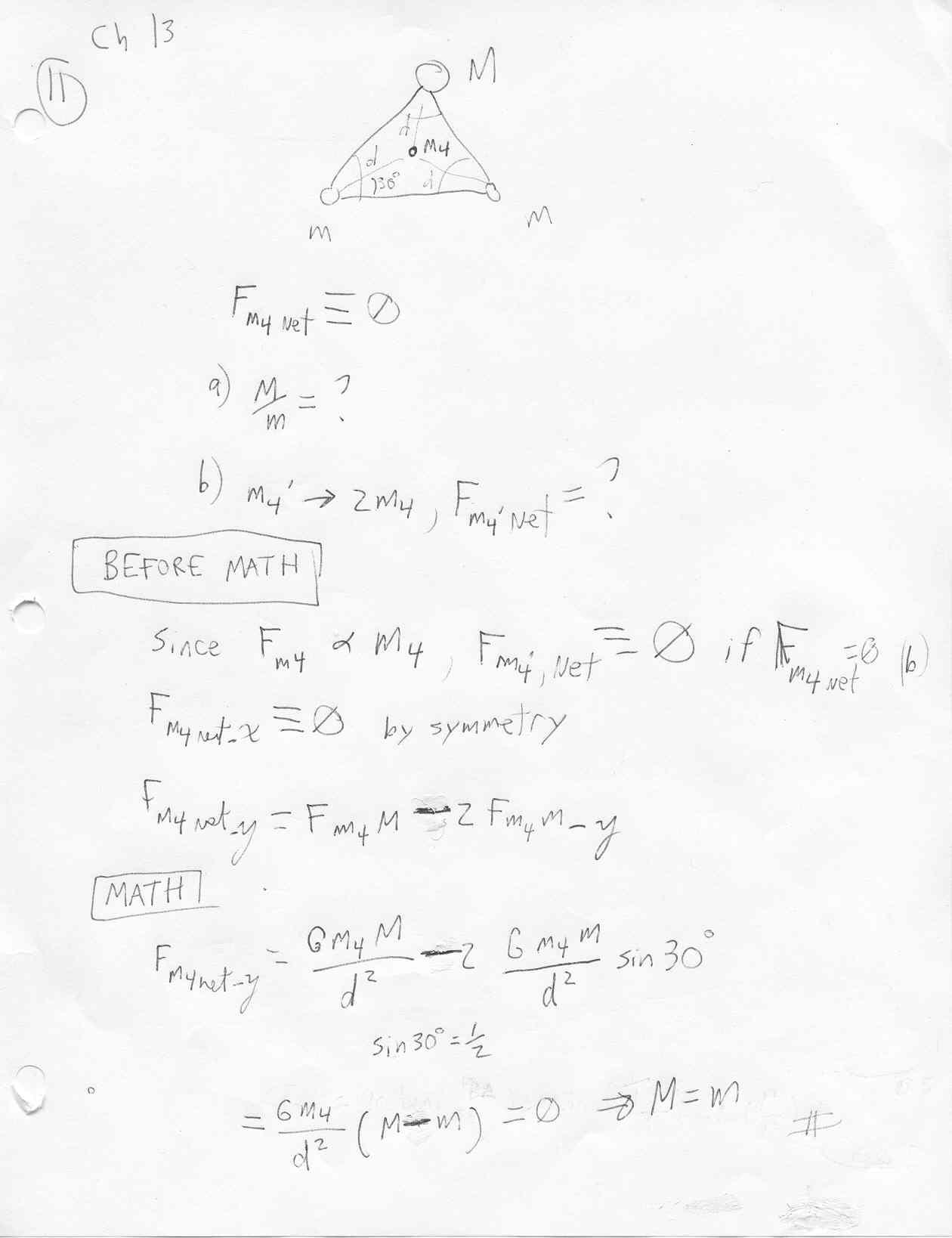 PC131 Mechanics tutorial page