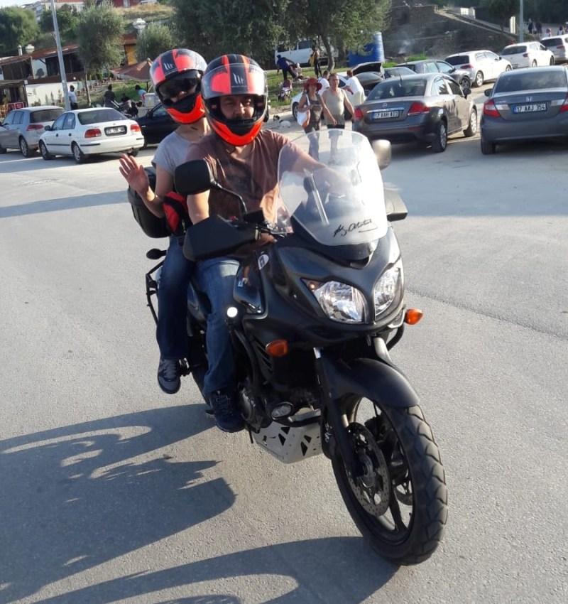 artçı, motosiklet, artçılı sürüş