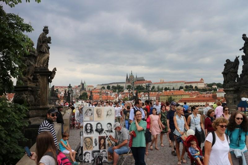 Çekya Prag Charles Brdige, Karl Köprüsü, Vltava Nehri