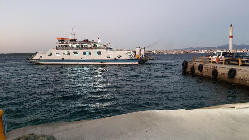 Kilitbahir Çanakkale feribotu