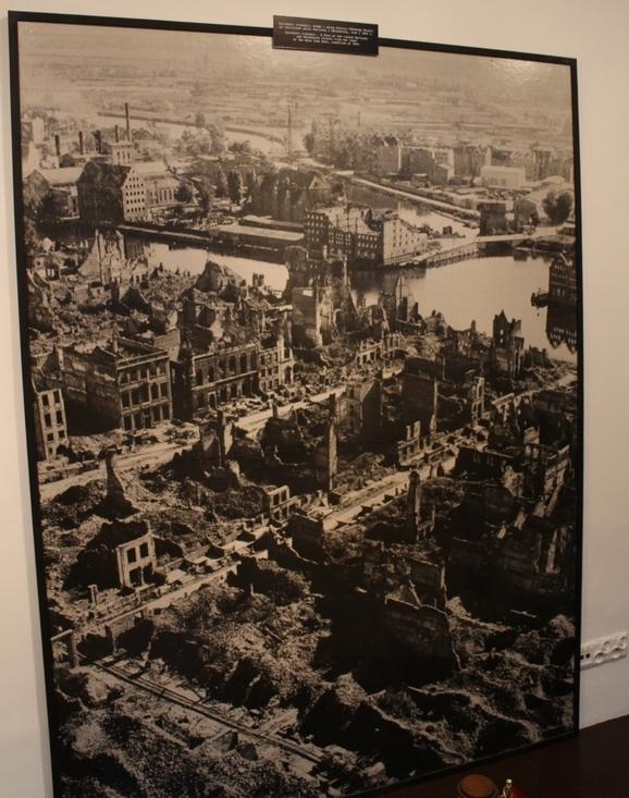 Polonya Gdansk Belediye Binası 2. dünya savaşı