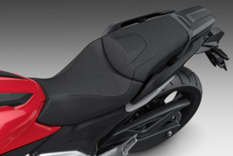 Honda NC750X 2021 sele konfor