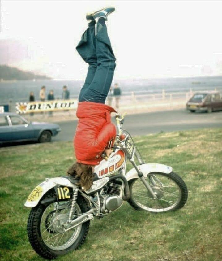 motorcu kadın performans