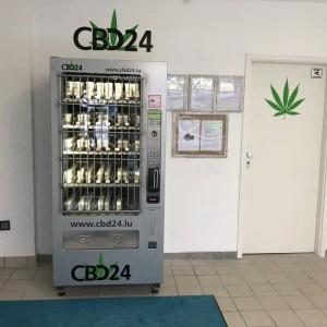 Tyskland installerer første salgsautomat for lovelig CBD-produkter