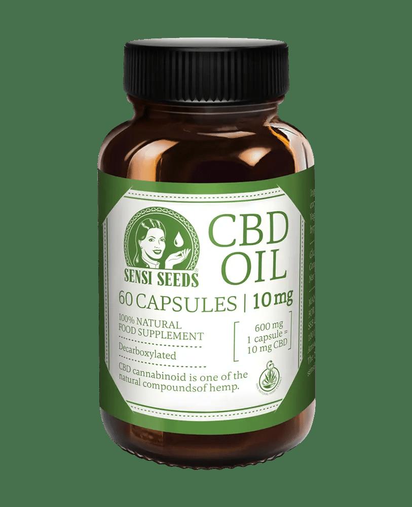 CBD Oil - 10 mg - 60 capsules