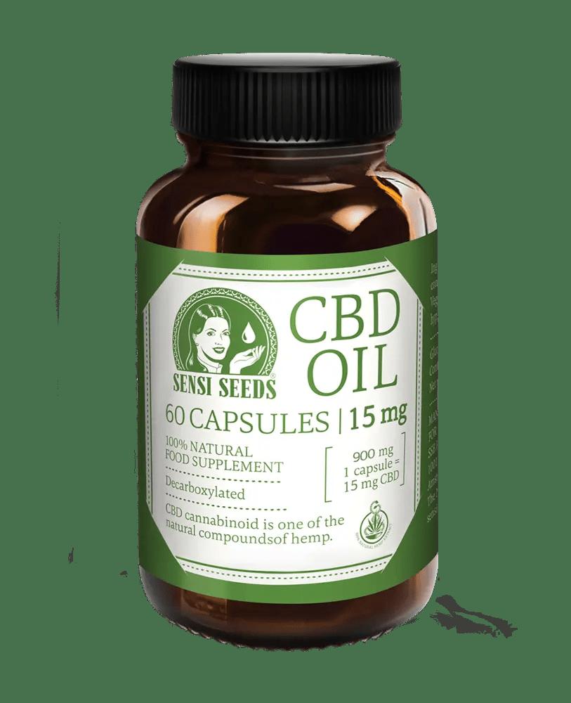 CBD Oil - 15 mg - 60 capsules