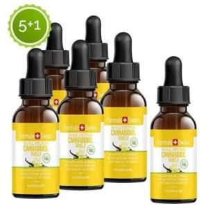Formula Swiss 5+1 CBD olje i MCT Oil vanilje