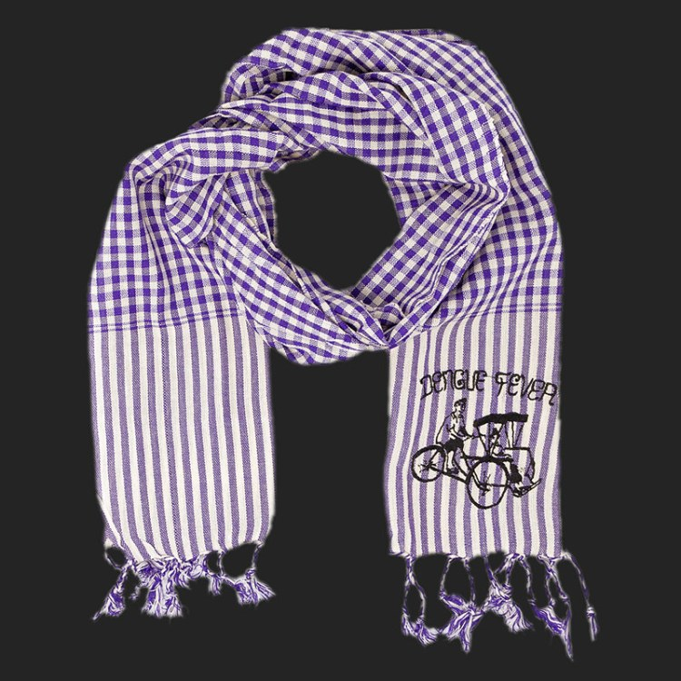 Krama Scarf - Grape