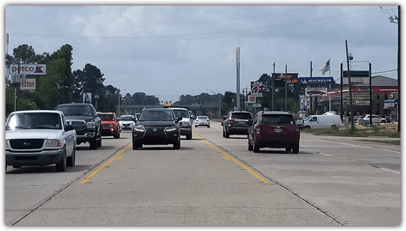 Florida Boulevard, Louisiana