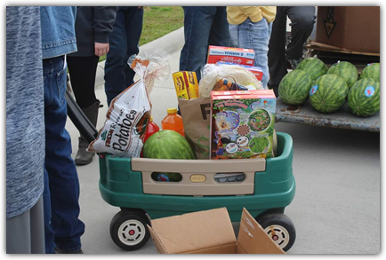 Support Food Distribution Programs