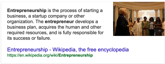 whats i entrepreneurhsip