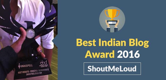best-indian-blog-award
