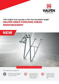 HDB-Z Halfen brošiūra