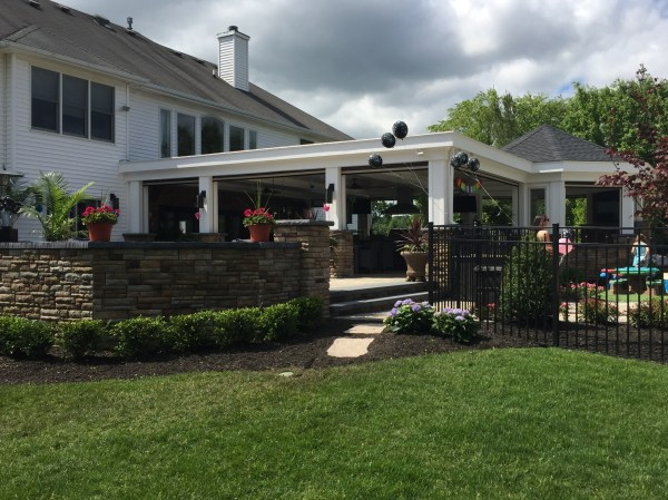covered patios - denicola landscaping