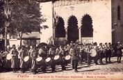 Carte postale tirailleurs à Sétif