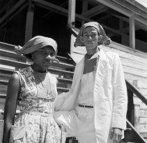 Leraren. Hendrikschool (Mulo) in Paramaribo, 1947. Nationaal Archief, cc-by-sa