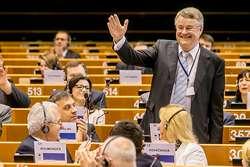 Markku Markkula zFinska, nově zvolený předseda