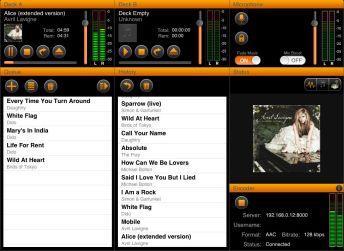 iBroadcast 1 Screen 1