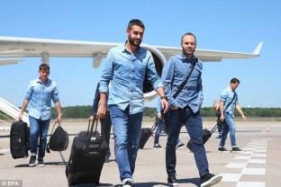 Barcelona in Replay denim 2