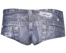 topshop denim underwear