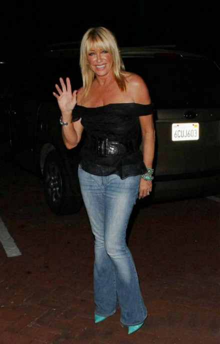 Suzanne Somers in Miss Sixty Jeans  Denimology