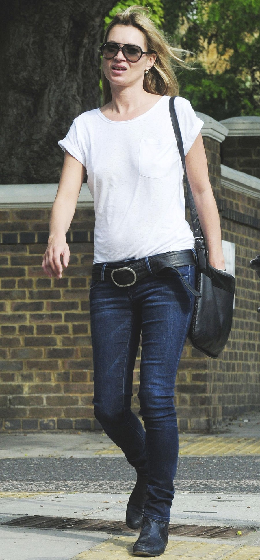 Kate Moss In Black Orchid Jeans  Denimology