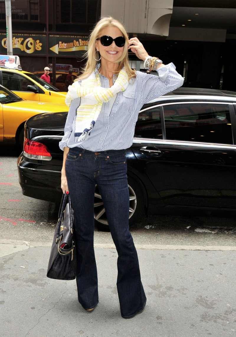 Christie Brinkley in J Brand Jeans  Denimology
