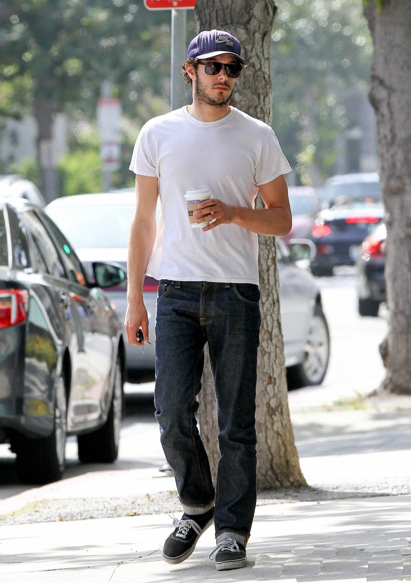 Adam Brody In AG Adriano Goldschmied Jeans  Denimology