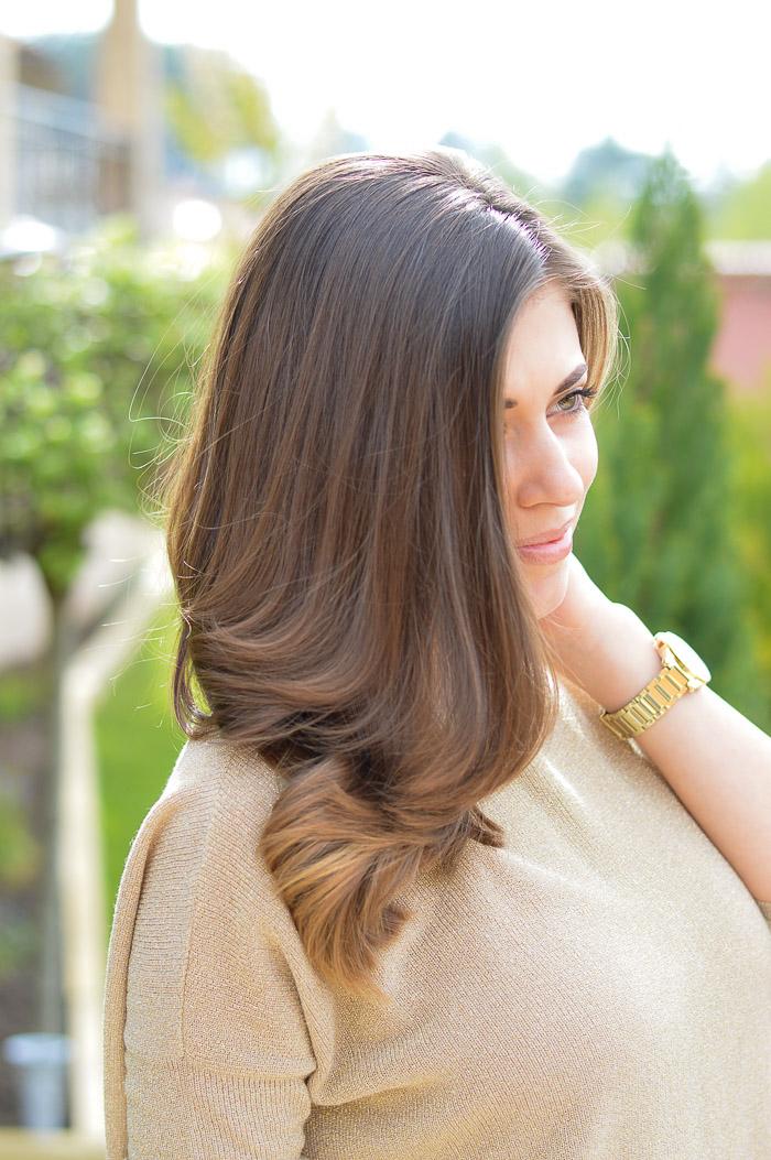 New Haircut Denina Martin