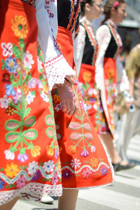 Bulgarian Traditional Garment during the Rose Festival in Kazanlak