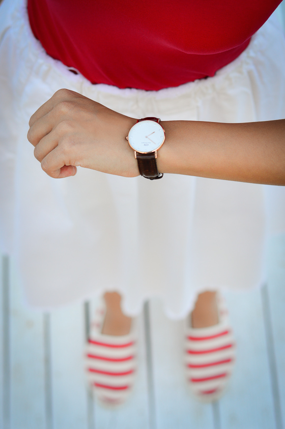 Daniel Wellington Watch Styled by Denina Martin - Summer Outfit