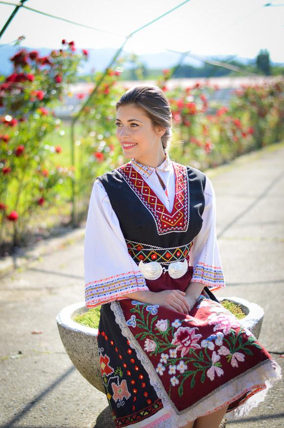 Native Attire during the Rose Festival in Kazanlak