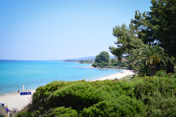 Best beaches in Greece - photo via Purely Me by Denina Martin