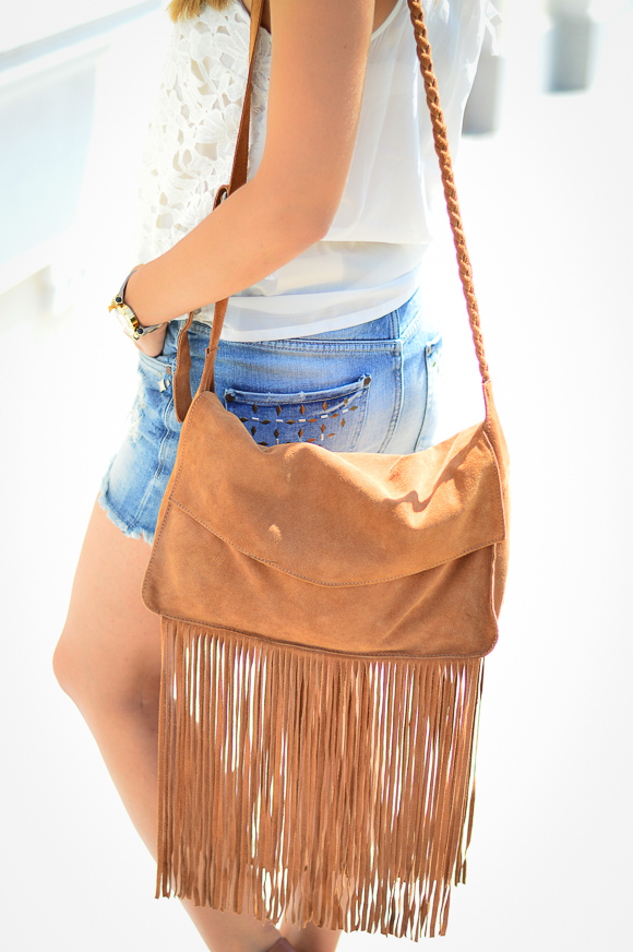 Fringed Bag by Pepe Jeans at Bulgaria Mall