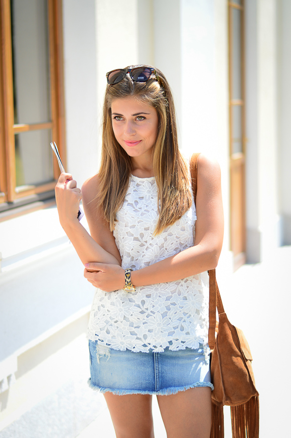 Българският моден блогър Денина с Pepe Jeans от Bulgaria Mall