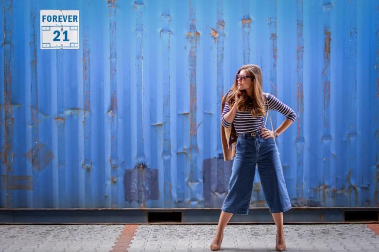 Forever-21-Denim-Culottes-70s-Trend-Blue-Stripes-Denina-Martin-12