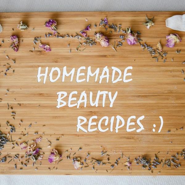 Homemade Beauty Recipes by Denina Martin and Damascena Cosmetics