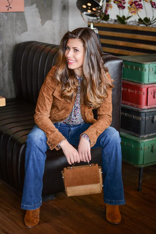 Laidback-Soho-Cafe-Flare-Jeans-Suede-Jacket-Denina-Martin-4